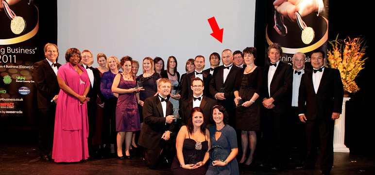 Nick Stubbs - Entrepreneur of the Year Award-2011